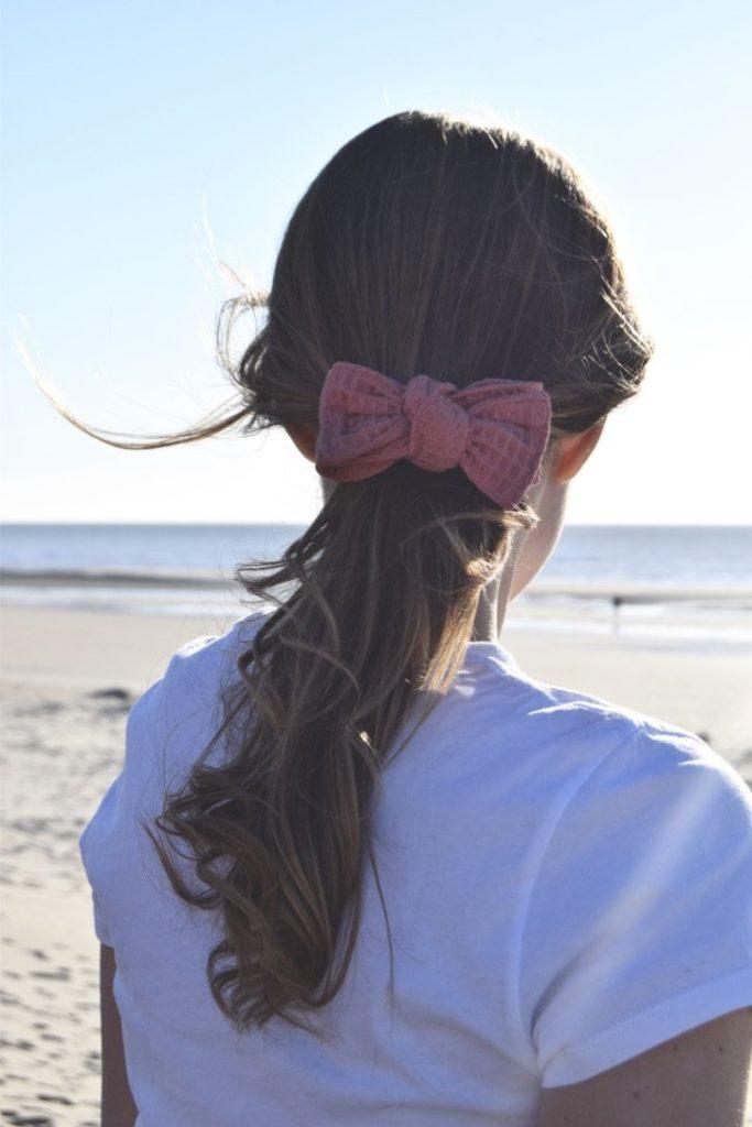 Maho mode éthique accessoires barrette rose