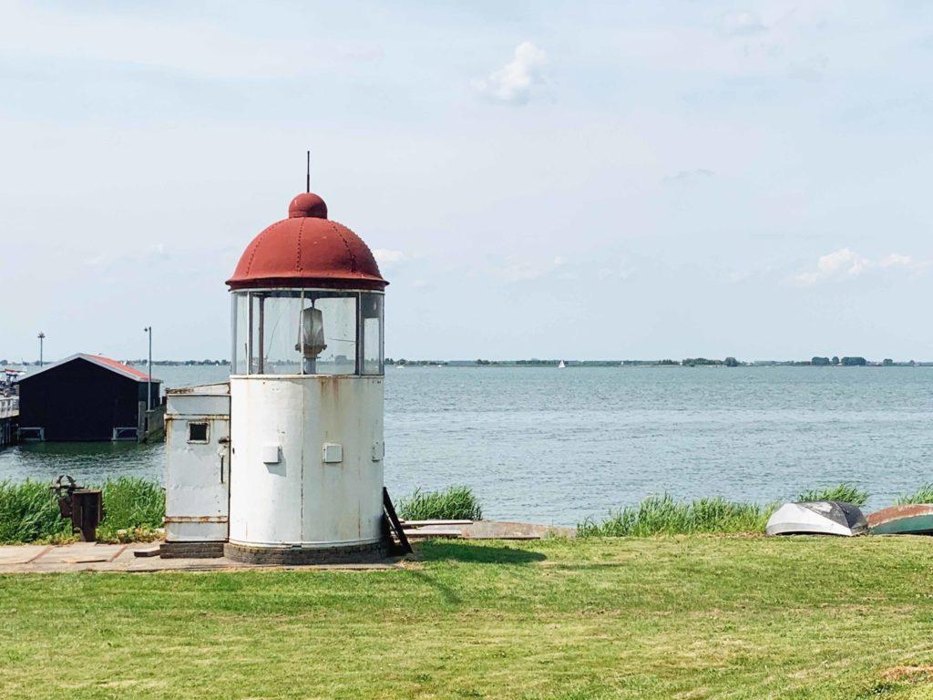 Marken Waterland presque île phare
