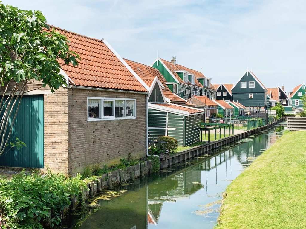 Marken village Waterland lac maisons
