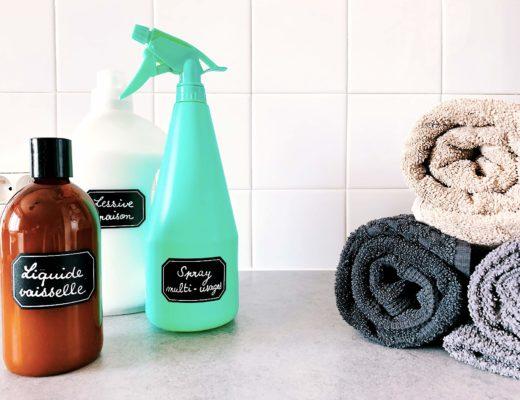produits ménagers recette maison faire soi même zéro déchet