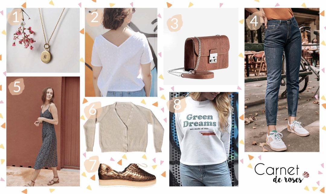 wishlist rentrée 2019 mode éthique marques