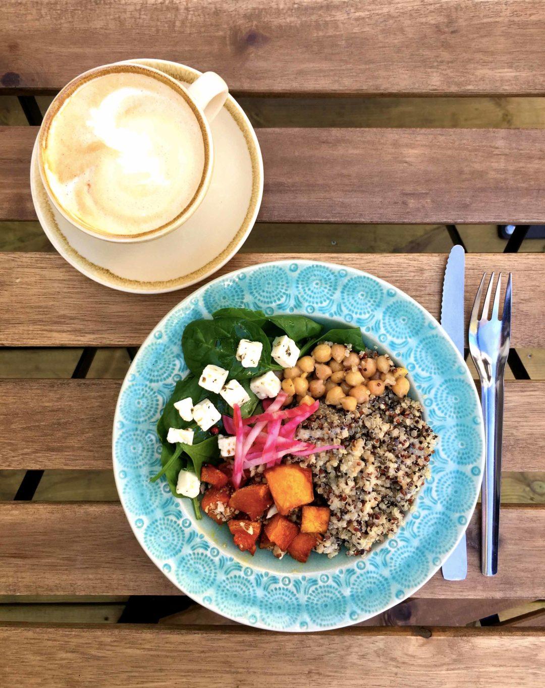 buddha bowl quetzal café veggie automne