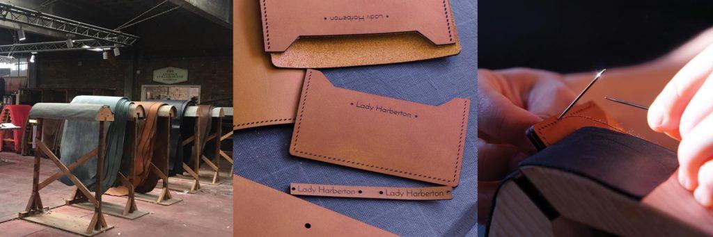 fabrication cuir lady harberton