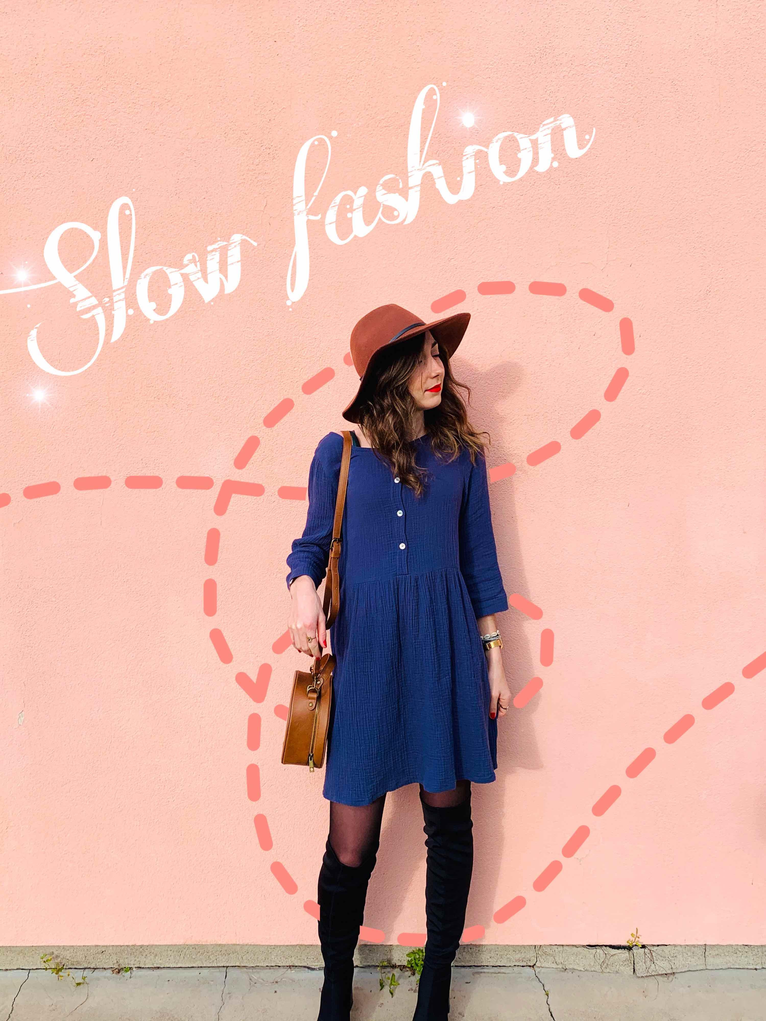 slow fashion carnet de roses delphine reine de boheme robe elisa