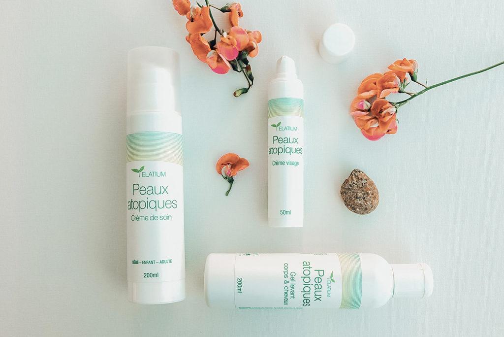 elatium gamme naturelle planté peaux atopiques